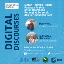 E-Poster Digital Discourses_Hari 1_(c) Goethe-Institut Indonesien